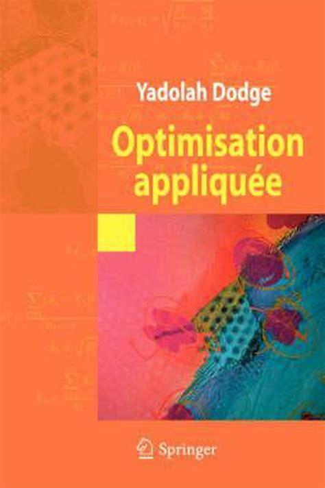 Optimisation Appliquee