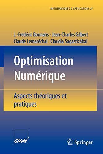 Optimisation Numerique Aspects Theoriques Et Pratiques