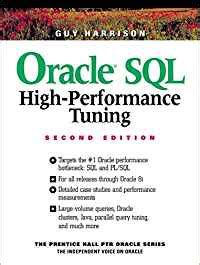 Oracle Sql High Performance Tuning Prentice Hall Ptr Oracle