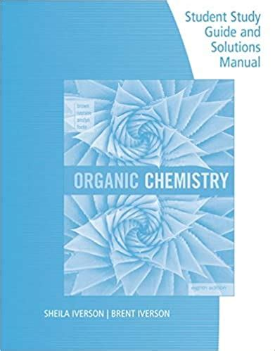 Organic Chemistry 7th Edition Brown Solutions Manual