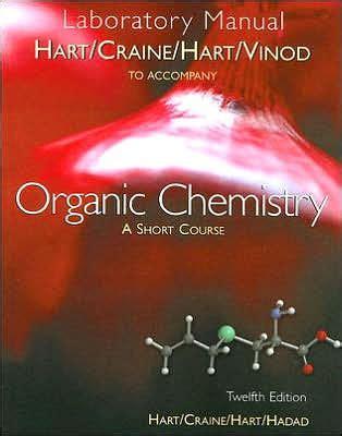 Organic Chemistry Hart Edition 12 Lab Manual