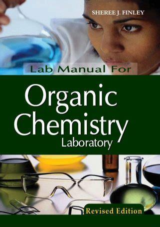 Organic Chemistry Lab Manual Answers Ubco