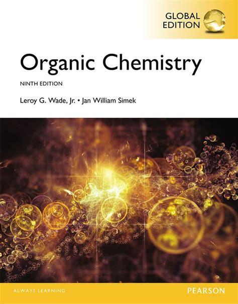 Organic Chemistry Wade Study Guide