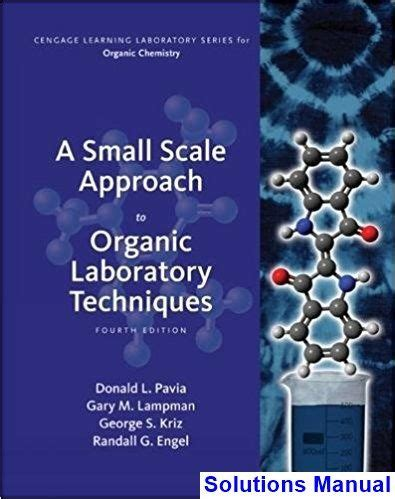 Organic Laboratory Techniques Pavia Solutions Manual