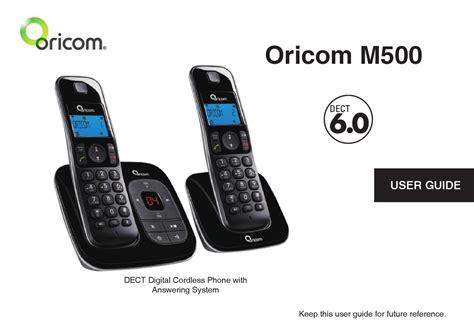 Oricom M500 2 User Guide