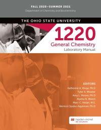 Osu Chem 1220 Lab Manual