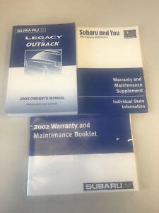 Outback Sport Service Manual