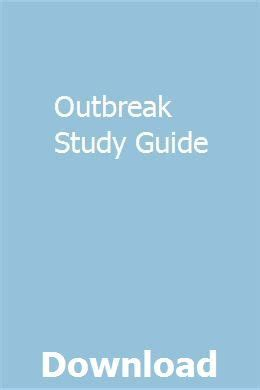 Outbreak Study Guide
