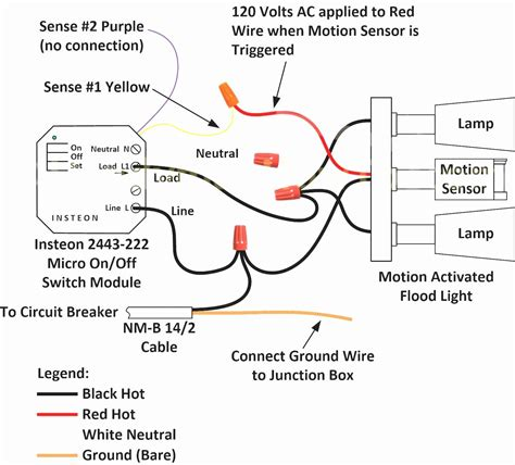 Outdoor Motion Security Light Wiring Diagram