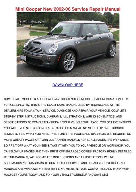 Owner Manual For 06 Mini Cooper
