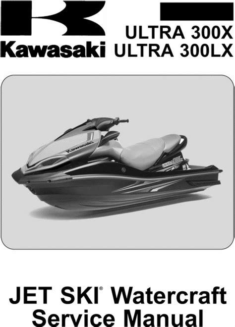 Owner Manual Kawasaki Jet Ski