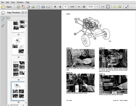 Owners Manual 5250 Case Tractor