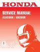 Owners Manual For 2016 Honda Xr200r