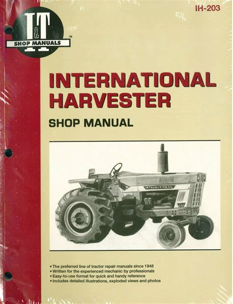 Owners Manual For 454 International