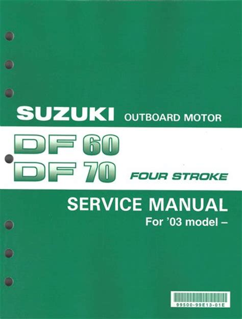 Owners Manual For A Suzuki Df60