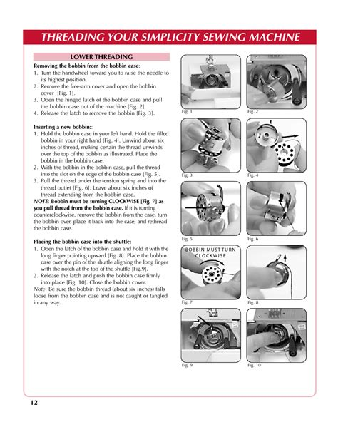 Owners Manual For Simplicity Serger
