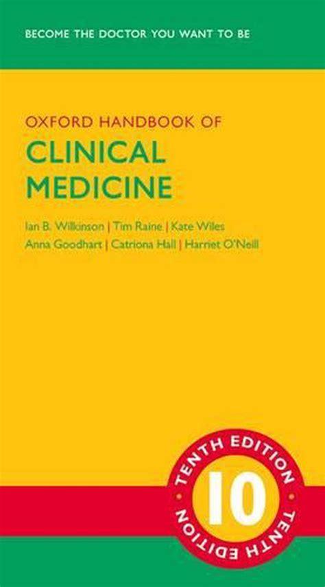 Oxford Handbook of Clinical Medicine (Oxford Handbooks Series)