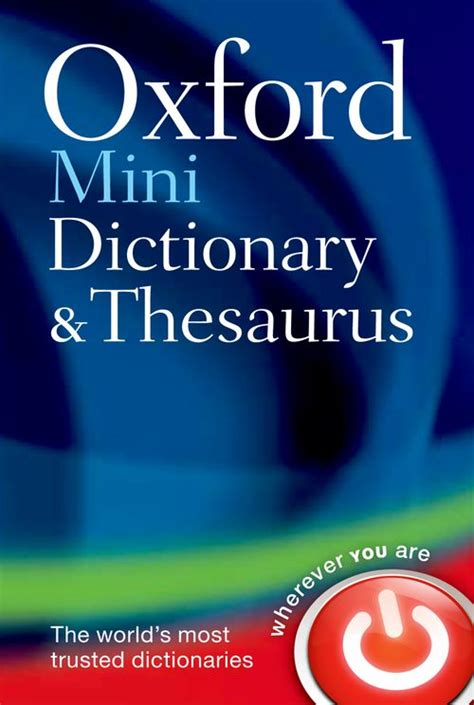 Oxford Paperback Dictionary And Thesaurus Dictionary Thesaurus