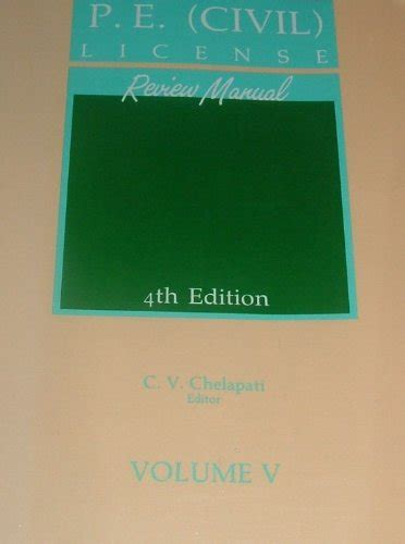 P E Electrical License Review Manuals Chelapati