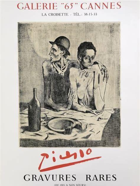 PABLO PICASSO: GRAVURES / Pablo Picasso: Prints - Bibliotheque Nationale, Paris, France - 1966