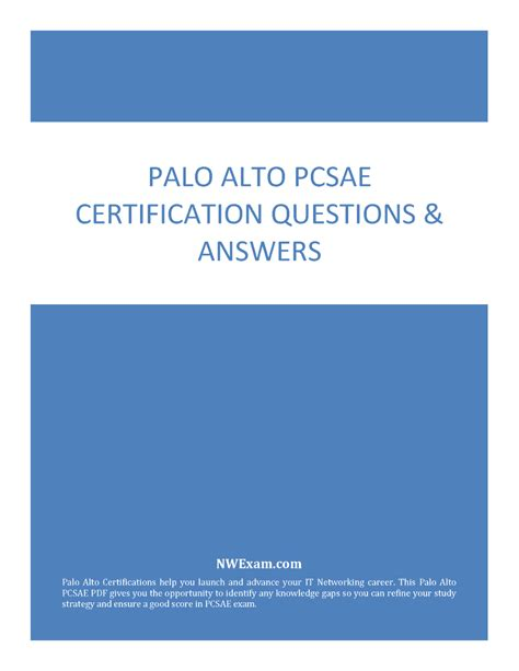 PCSAE Test Study Guide