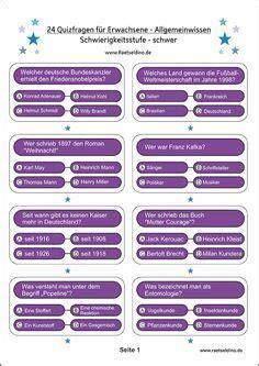 PHRca Quizfragen Und Antworten