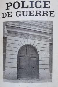POLICE DE GUERRE. 1914 -1919