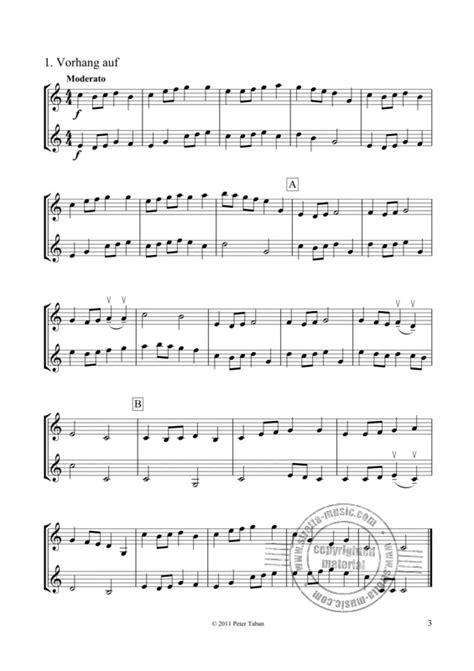 Pairs. 2 Violinen: Leichte Duette