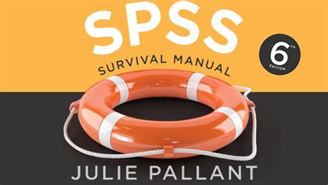 Pallant Spss Survival Manual 5th Edition