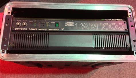 Pam 1000 Amplifier Manual