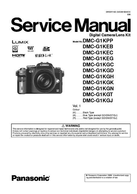 Panasonic G1 Manual
