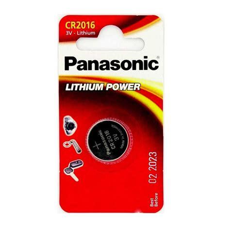 Panasonic Lithium Power Battery Cr2016 1 Stuek Blister Battery Cr2016