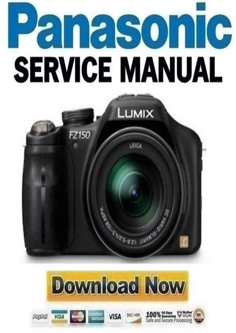 Panasonic Lumix Dmc Fz150 Service Manual Repair Guide