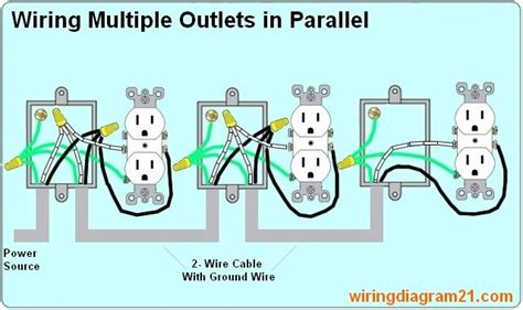 Parallel Electrical Wiring Multiple Schematics