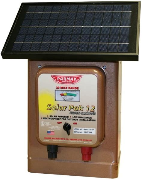 Parmak Solar Fence Charger Manual