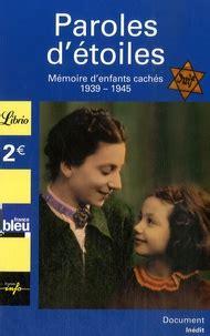 Paroles D Etoiles Memoire D Enfants Caches
