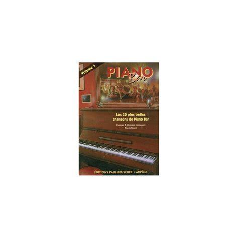 Partition Piano Bar Vol 1