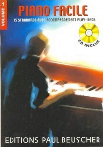 Partition Piano Facile Vol 1 Cd
