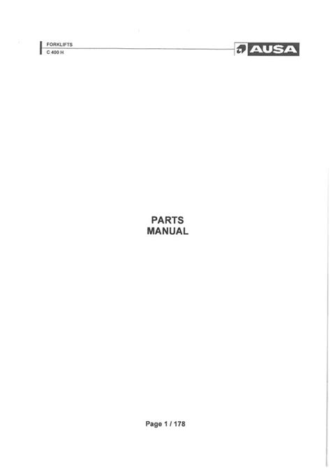 Parts Manual For Ht570