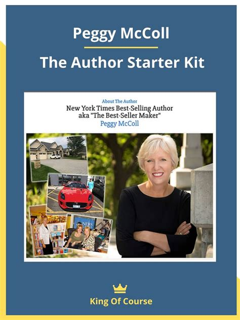 Peggy McColl - The Author Starter Kit