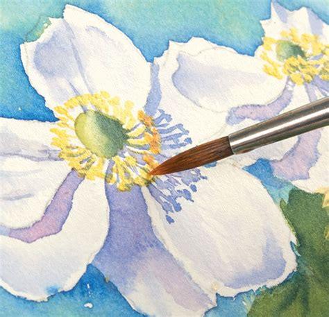 Peinture Florale A Laquarelle Peindre En 30 Minutes Chrono
