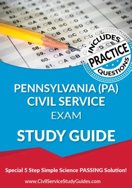 Pennsylvania Civil Service Exam Study Guide Police