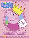 Peppa Pig Coloring Book For Kids Andamp Toddlers Easy Coloring Pages 80 High Quality Illustrations