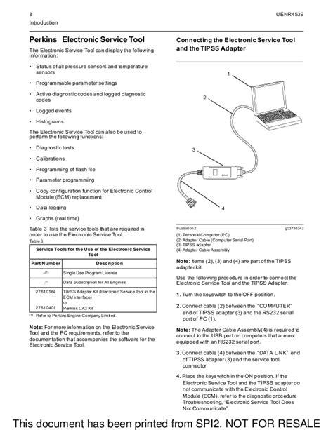 Perkins 2200 Series Generator Workshop Manual