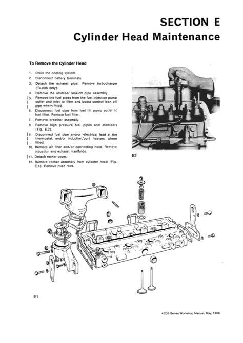 Perkins T4236 Manual