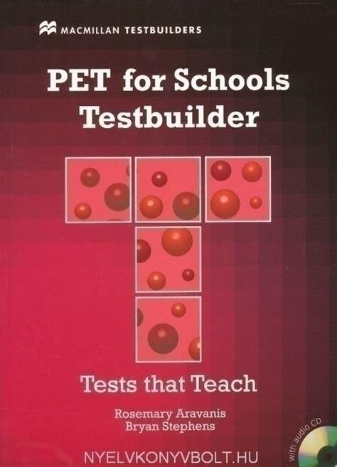 Pet Testbuilder Students Book Con Audio Cd Per Le Scuole Superiori