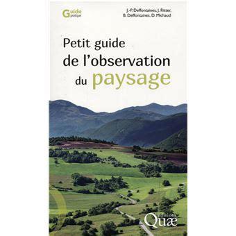 Petit Guide De Lobservation Du Paysage