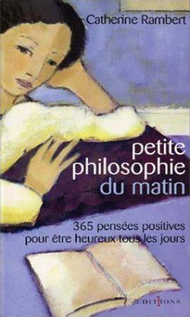 Petite Philosophie Du Matin