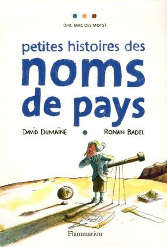 Petites Histoires Des Noms De Pays