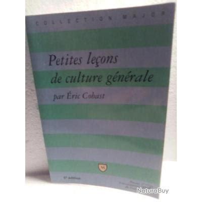 Petites Lecons De Culture Generale
